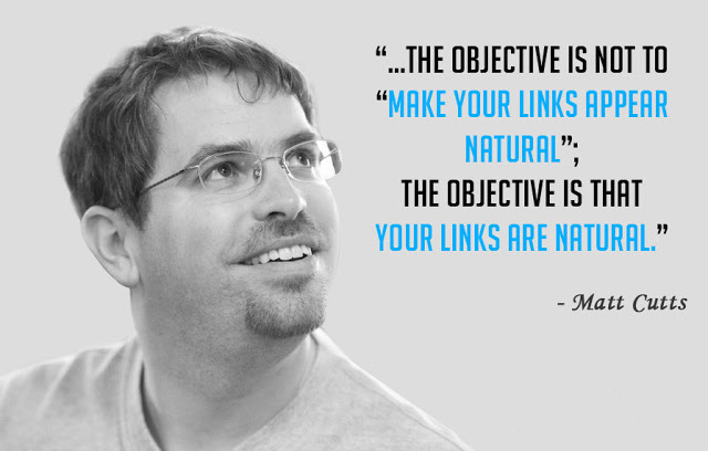 Matt Cutts on Natural Link Building
