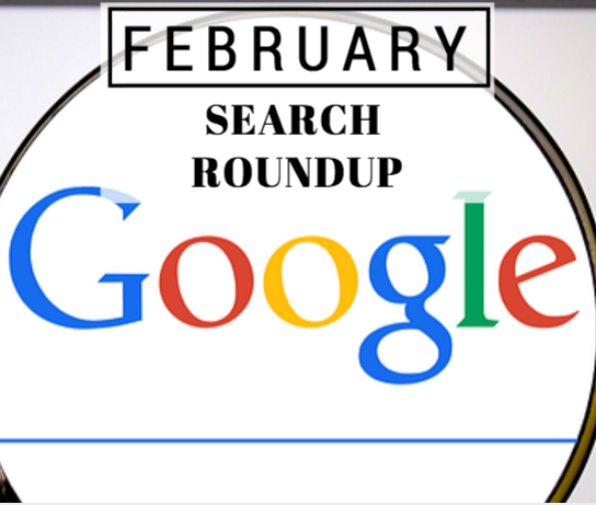 February Search Roundup