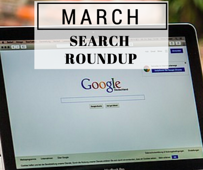 March 2016 Search Roundup