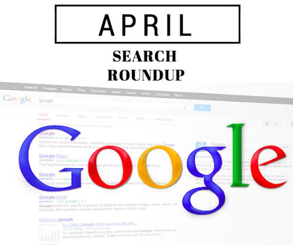 April SEO Roundup