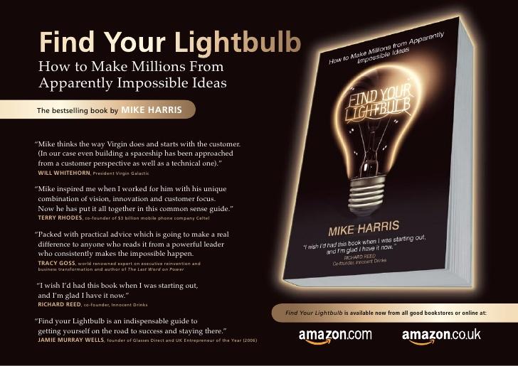 Find your lightbulb.