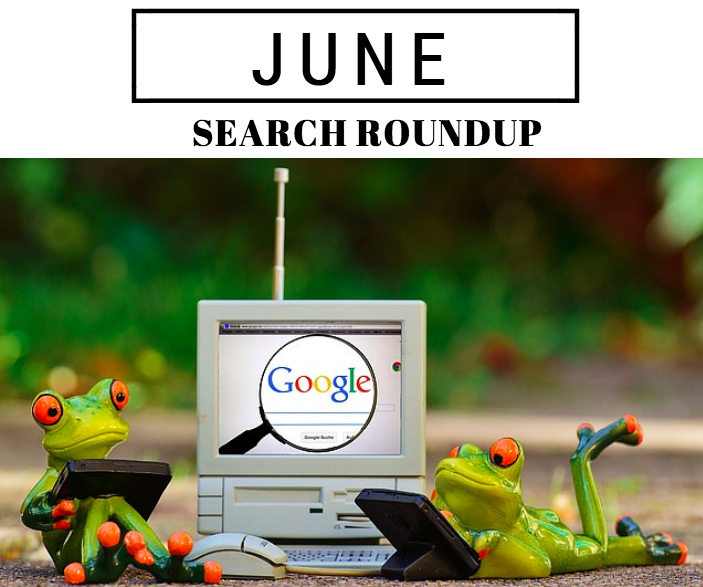 June Search Roundup 2016