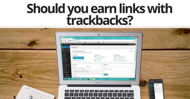 Trackback link building