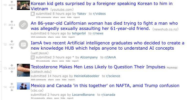 Korean kid 1st page Reddit